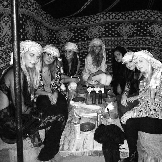 Dinner in the desert. #desert #safari #dubai