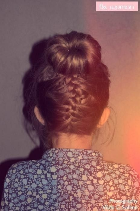 Bun braid