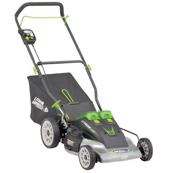 Earthwise Cordless 40-volt Lithium Ion 20-inch Lawn Mower, #60418