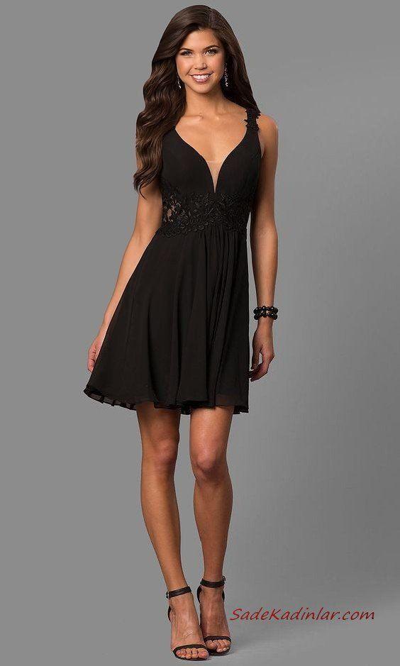 Genc Kizlar Icin Sade Ve Zarif Sik Abiyeler 2020 2020 Moda Stilleri The Dress Resmi Elbise