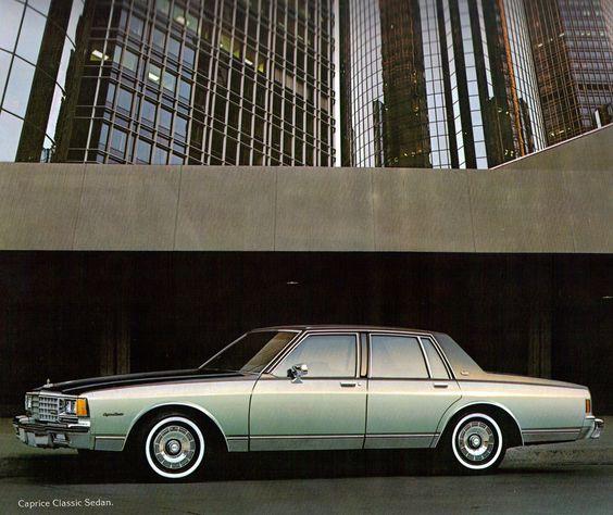 1981 Chevrolet Caprice Classic 4 Door Sedan
