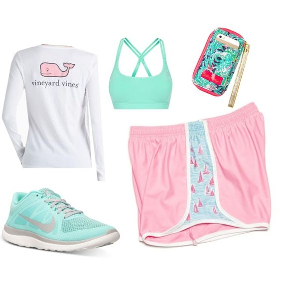 KRASS & CO look 1 by gabbysingh13 on Polyvore featuring Vineyard Vines, Lorna Jane and NIKE