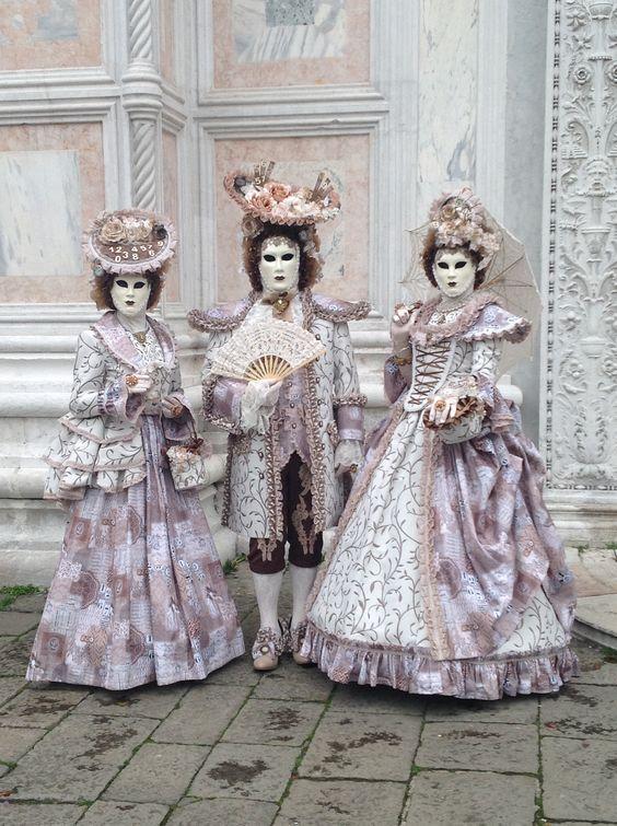 Carnival trio