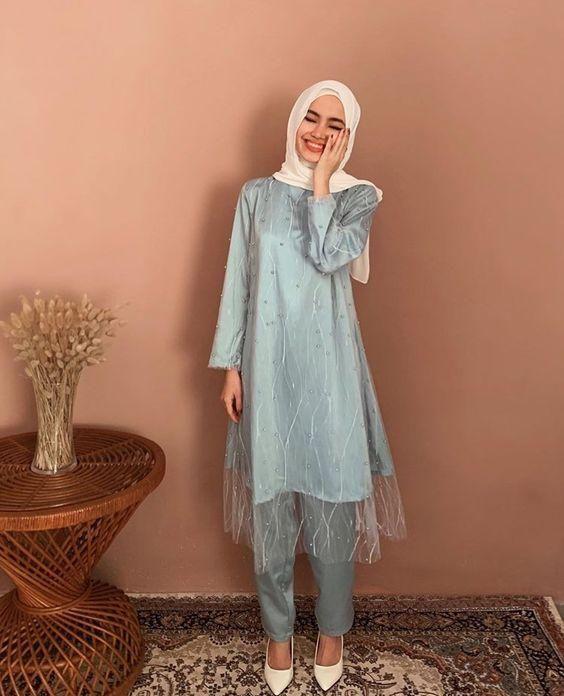 Outfit Kondangan Simple : outfit, kondangan, simple, Outfit, Kondangan, Simple, Celana, Pakaian, Jelita,, Pesta,, Model