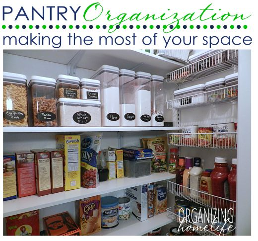 How To Maximize The Space In Your Pantry With Organizing: maximize kitchen storage
