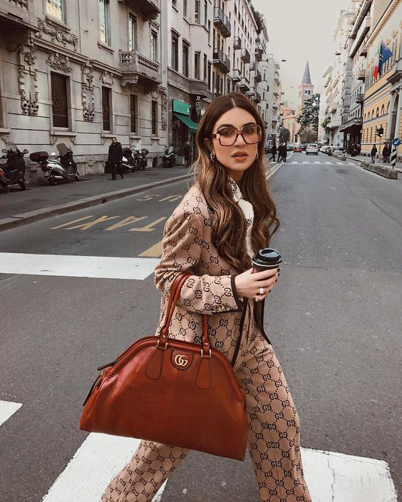 """145.3k Likes, 1,664 Comments - Negin Mirsalehi (@negin_mirsalehi) on Instagram: """"And we're off to @gucci. First show of my #mfw. ⚡️"""""""