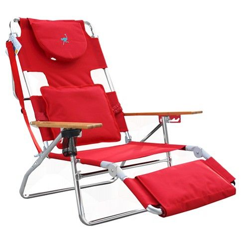 Ostrich Deluxe Face Down 3 In 1 Beach Chair Target Beach Lounge Chair Beach Chairs Chair Pads