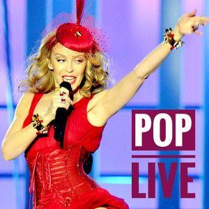 Pop Live - O melhor da música pop em versões ao vivo por seus intérpretes originais.