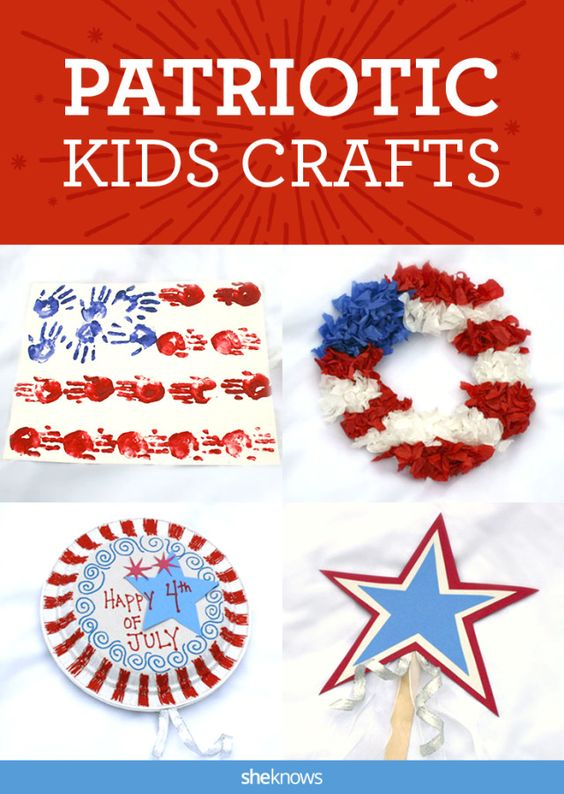 In all their red, white and blue glory, you can use these DIY crafts to make this Independence Day more fun and interactive for the kids.
