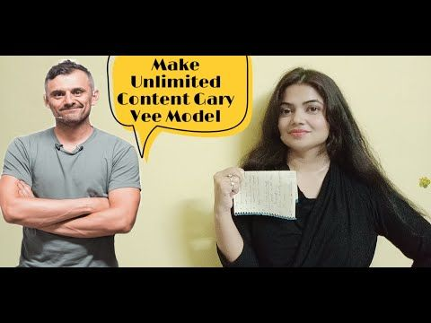 How To Create Content For Instagram Facebook Linkedin Tiktok Twitter Garyvee Content Model Youtube Gary Vee Reverse Pyramid Content
