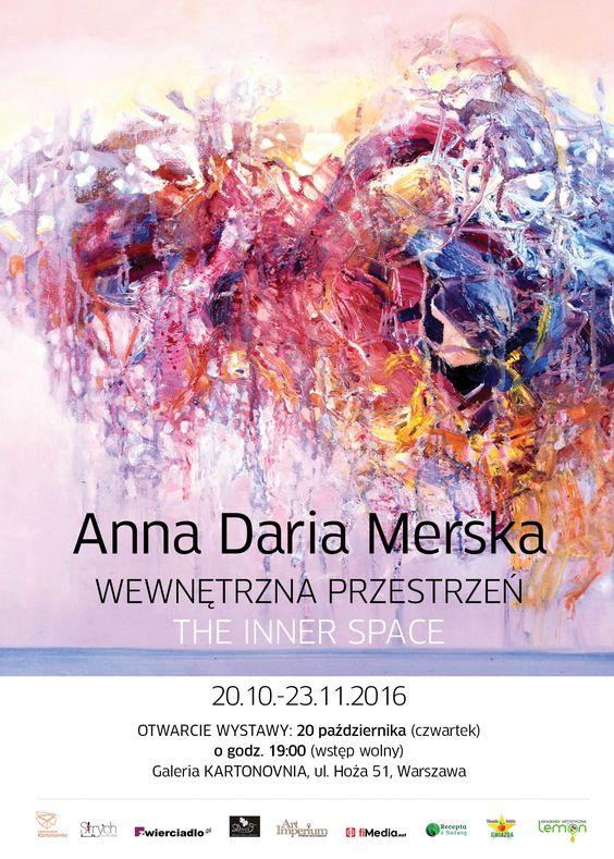 Anna Daria MErska - wystawa w Kartonovni