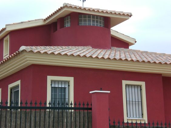 Pinturas de exteriores de gran calidad para renovar y - Fachadas de casas pintadas ...