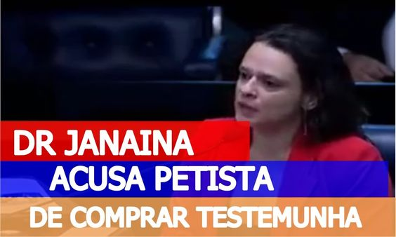 Janaina Paschoal entra rasgando de novo e acusa Gleisi de COMPRAR TESTEM...