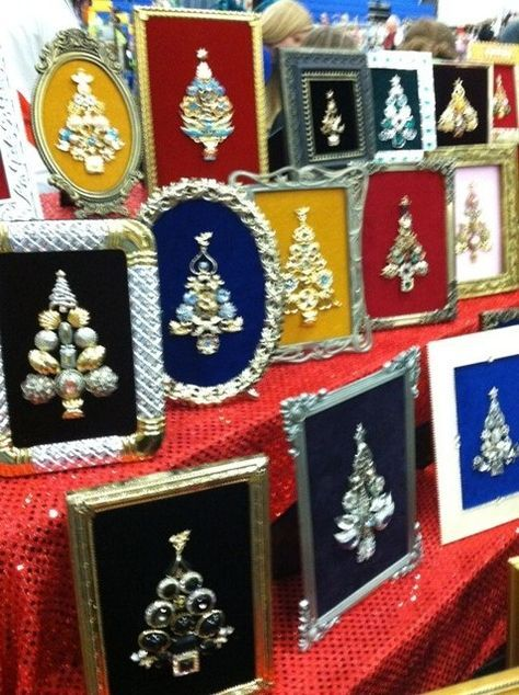 Earlier in the season Rebecca and I went to a craft fair at a local high school, and there was one booth with the CUTEST little jeweled, fra...