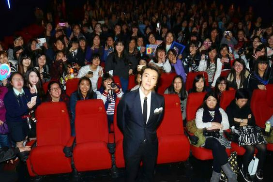 #SuperJunior DONGHAE(@donghae861015) at 'The Youth' promotion in Hongkong.