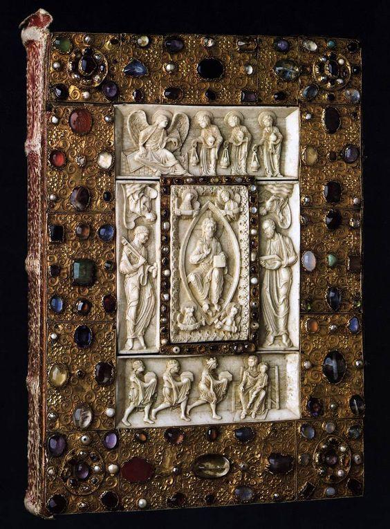 Book Cover  1190s  Wooden core, silver, 30 x 23 cm  Herzog Anton Ulrich-Museum, Braunschweig