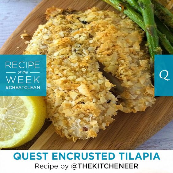 A perfect dish for your Labor Day Weekend. This normally mild-tasting fish is #CrunchClean coated giving it a rich flavor and plenty of protein. Recipe by Amanda T. from her blog The Kitcheneer. Serves 4…