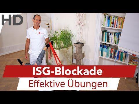 liosakralgelenk Schmerzen - ISG-Blockade - Übungen gegen ISG Schmerzen LNB Schmerztherapie