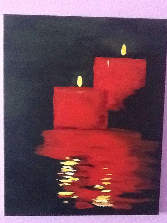 Beautifulcandle painting