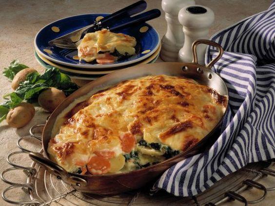 Kartoffel-Spinat-Lasagne ist ein Rezept mit frischen Zutaten aus der Kategorie Lasagne. Probieren Sie dieses und weitere Rezepte von EAT SMARTER!