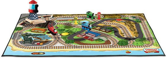 Wooden Railway Felt Playmat $12.49 (toysrus.com)