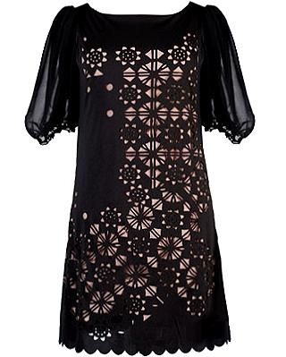 Laser Cut Night Dress