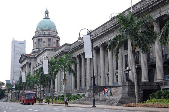 Toà thị chính Singapore City Hall Singapore