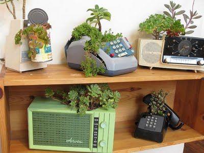 appliance planters