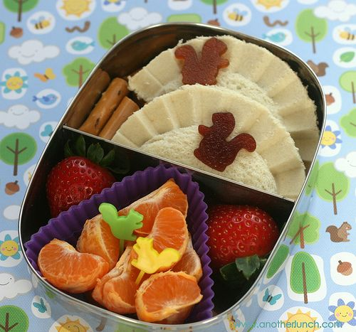 Best blog I've ever seen--the most creative school lunches ever!