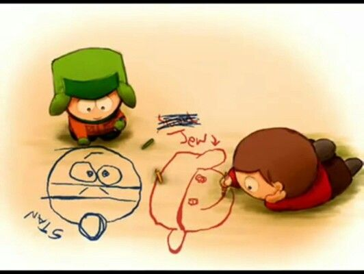 Cartman And Kyle Love