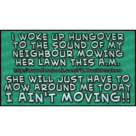 Hangovers.....