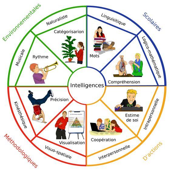 L'adaptation, un maître-mot pour un enseignant spécialisé qui veut coller au plus près des besoins des élèves. Après avoir proposé aux élèves l'utilisation des cartes mentales (intelligence visuelle-spatiale) avec des élèves sourds de cycle 2, j'ai décidé d'étendre l'idée à d'autres intelligences avec la théorie des intelligences multiples (IM) d'Howard Gardner. Je m'interroge ici sur l'utilité des tests diagnostiques sur les IM.