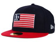 Find the Oakland Athletics New Era Navy/Red New Era MLB Team Merica 59FIFTY Cap & other MLB Gear at Lids.com. From fashion to fan styles, Lids.com has you covered with exclusive gear from your favorite teams.