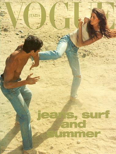 Vogue Itália - Junho 1999