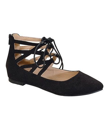 Love this Black Toddi Flat by Marilyn Moda on #zulily! #zulilyfinds