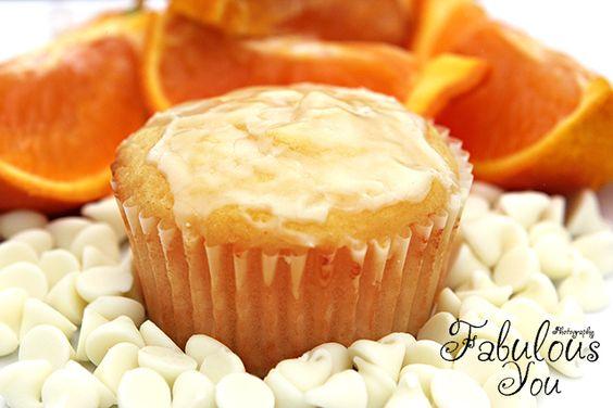Orange Cream Muffins