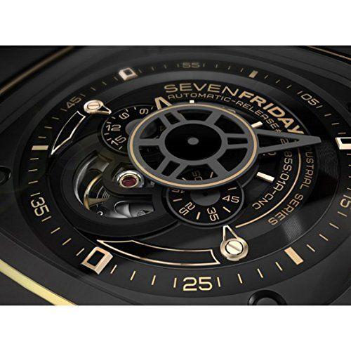 SEVEN FRIDAY HERREN & DAMEN AUTOMATIKWERK SCHWARZ LEDER ARMBAND UHR P2-2 - See more at: http://uhr.florentt.com/watches/seven-friday-herren-damen-automatikwerk-schwarz-leder-armband-uhr-p22-de/#sthash.bAGxGKkv.dpuf