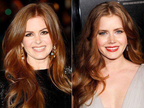 Isla Fisher e Amy Adams praticamente identiche. Vip separati alla nascita