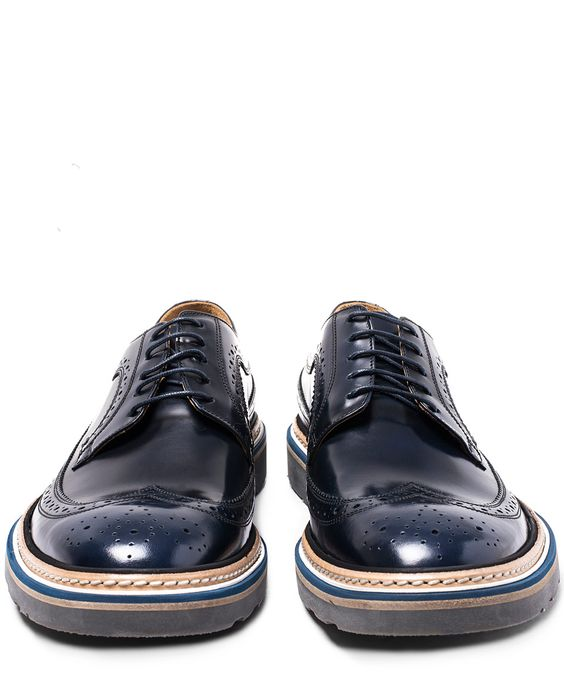 Paul Smith Grand Wingcap Leather Derby Shoes | Men's Shoes | Liberty.co.uk