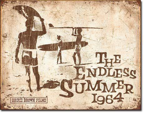 Endless Summer Retro Tin Sign