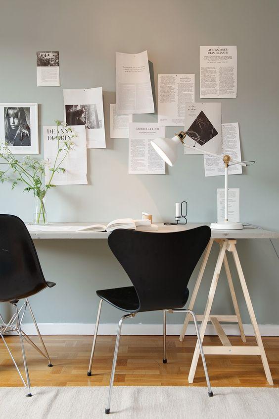 Även utmärkt som arbetsrum eller gästrum | pastell | Pinterest ...