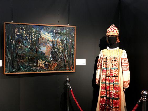 Экспозиция на открытии выставки Большого театра в Калининграде. Фото Жени Шведы
