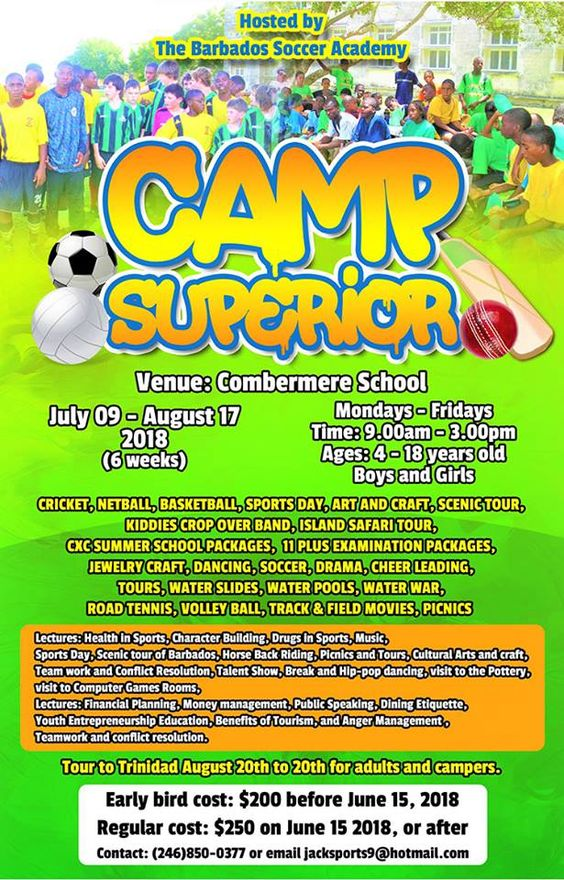 Barbados Summer Camps for Kids
