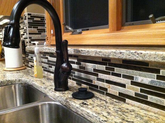 foil mc pacific faucet backsplash backsplash idea kitchen backsplash