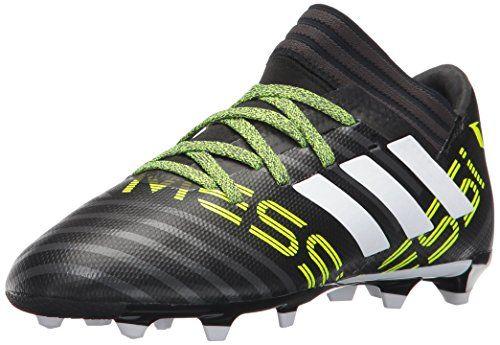 Adidas Kids Nemeziz Messi 17 3 Fg J Soccer Shoes Black White Solar Yellow 3 5 Big Kid Soccer Shoe Soccer Shoes Boys Boots