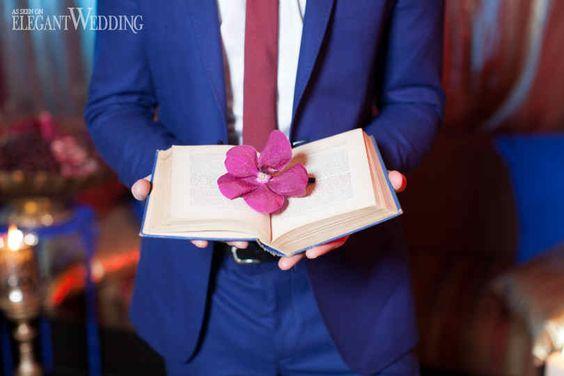 Wedding Decor | Boho Chic | Flower Book