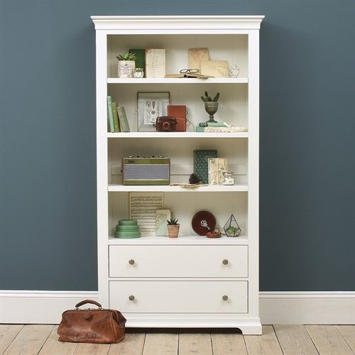 Chantilly White Large Bookcase The