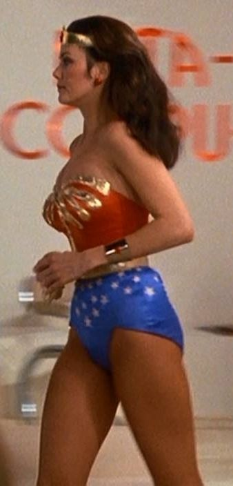 Wonder Woman heading for the action!