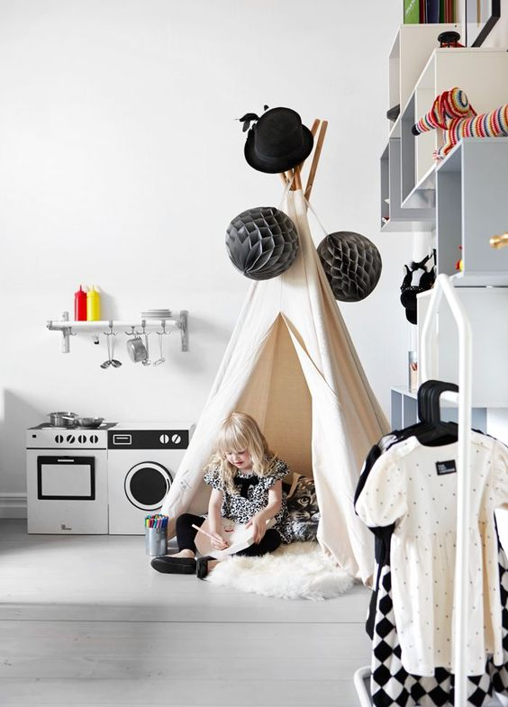 Grey in Kids Room - Petit & Small:
