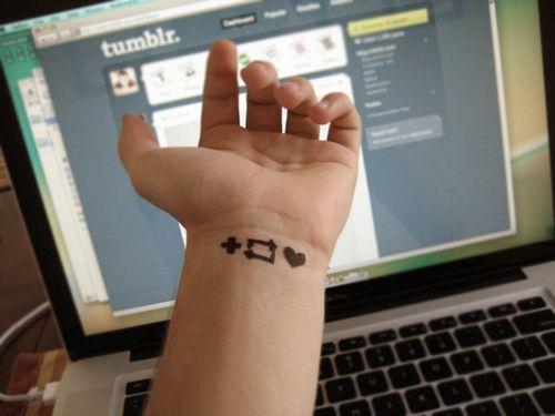 10 People Sporting Social Media Tattoos